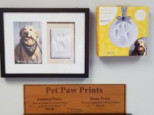 Pet Paw Print Kit & Frames - From $40.00