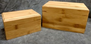 Bamboo MDF Urn $65.00 - various sizes