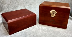 Walnut Urns $95.00