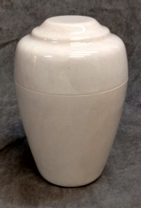 White Grecian Marble Urn $125.00