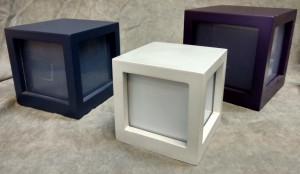 3 Sided MDF Photo Urn $69.00 - $79.00 - various sizes and colors